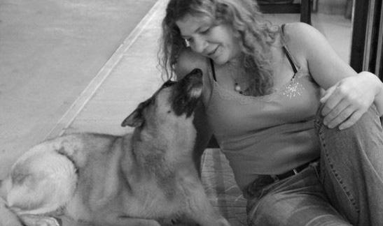 Jill Eason and her friend Sam